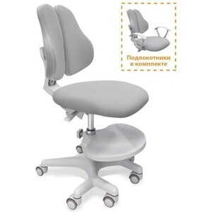 Кресло Mealux Mio-2 Y-408 KG обивка серая однотонная