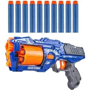 Пистолет Zecong Toys BlazeStorm с мягкими пулями - 7092