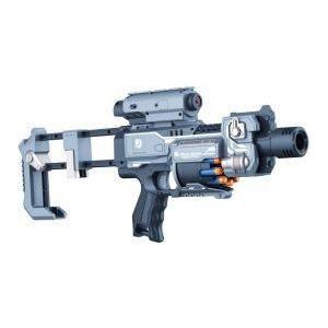 Пистолет Zecong Toys с мягкими пулями и фонариком на батарейках BlazeStorm - ZC7083
