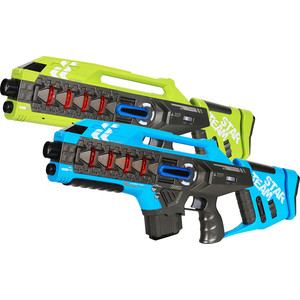 Лазерный бой Zhorya (набор из 2-х автоматов: синий и зеленый) - ZYB-B3276-2