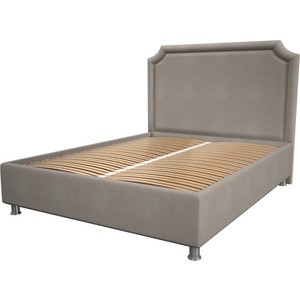 Кровать OrthoSleep Федерика camel ортопед. основание 200x200