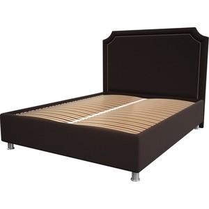Кровать OrthoSleep Федерика chocolate ортопед. основание 200x200