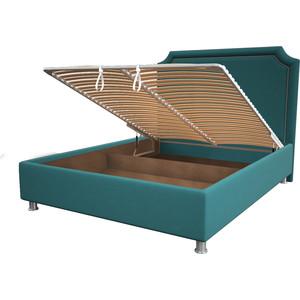 Кровать OrthoSleep Федерика menthol механизм и ящик 200x200