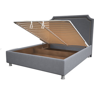 Кровать OrthoSleep Федерика silver механизм и ящик 200x200