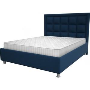 Кровать OrthoSleep Альба blue жесткое основание 160x200