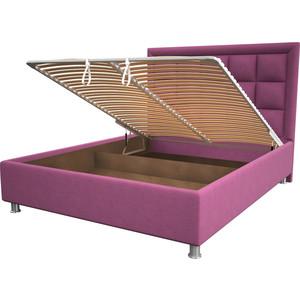 Кровать OrthoSleep Альба pink механизм и ящик 180x200