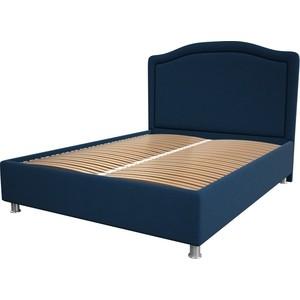 цена Кровать OrthoSleep Калифорния blue ортопед. основание 180x200 онлайн в 2017 году