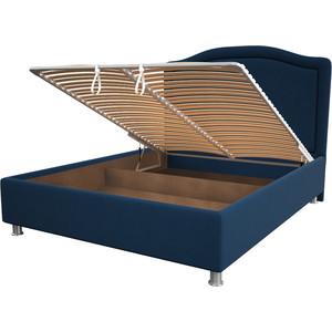 цена Кровать OrthoSleep Калифорния blue механизм и ящик 180x200 онлайн в 2017 году