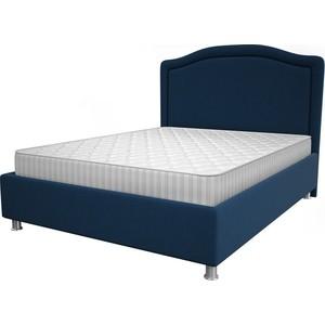 Кровать OrthoSleep Калифорния blue жесткое основание 200x200