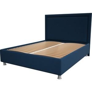цена Кровать OrthoSleep Нью-Йорк blue ортопед. основание 180x200 онлайн в 2017 году
