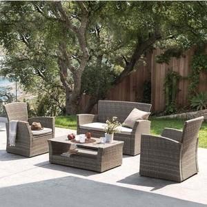 цена на Комплект мебели с диваном Afina garden AFM-405G brown