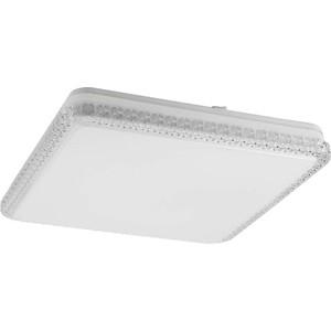 Потолочный светодиодный светильник ЭРА SPB-6-60-RC Brilliance Slim квадратный