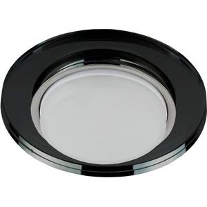 Встраиваемый светильник ЭРА DK80 BK