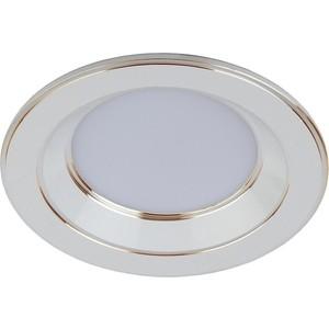 Встраиваемый светильник ЭРА KL LED 15-7 WH/GD