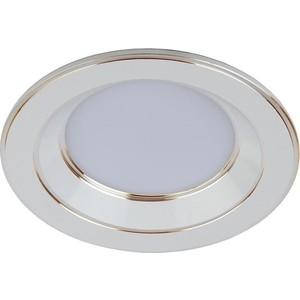 Встраиваемый светильник ЭРА KL LED 15-9 WH/GD