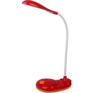 Настольная лампа ЭРА NLED-430-3W-R настольная лампа эра nled 434 6w r