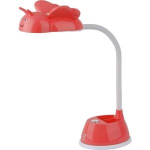 Настольная лампа ЭРА NLED-434-6W-R настольная лампа эра nled 434 6w r