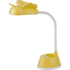 Настольная лампа ЭРА NLED-434-6W-Y настольная лампа эра nled 421 белый