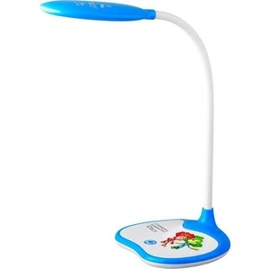 Настольная лампа ЭРА NLED-433-6W-BU настольная лампа эра nled 421 белый