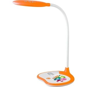 Настольная лампа ЭРА NLED-433-6W-OR настольная лампа эра nled 434 6w r