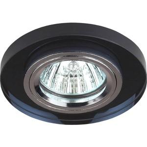 Встраиваемый светильник ЭРА DK7 CH/BK