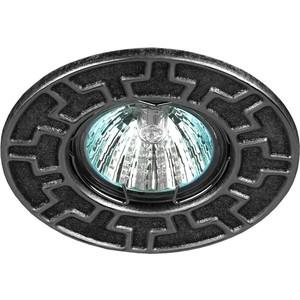 Встраиваемый светильник ЭРА ST5 CH/BK