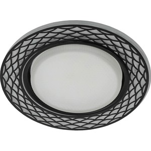 Точечный светильник ЭРА DK LD37 WH/BK