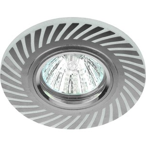 Точечный светильник ЭРА DK LD39 WH/CH встраиваемый светильник эра dk led 11 10 ch