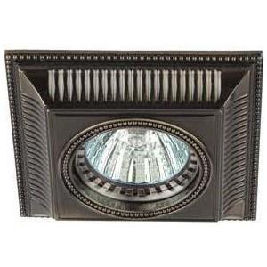 Точечный светильник ЭРА KL61 SB