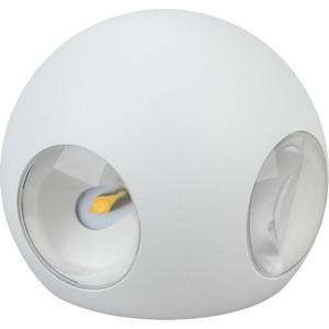 Уличный настенный светильник ЭРА WL10 WH
