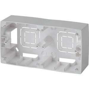 Коробка для накладного монтажа 2-постовая ЭРА 12-6102-03