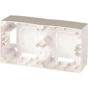 Коробка для накладного монтажа 2-постовая ЭРА 12-6102-04