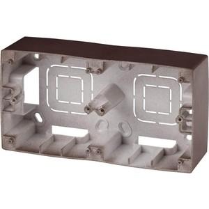 Коробка для накладного монтажа 2-постовая ЭРА 12-6102-13