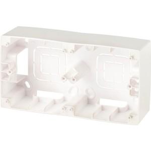 Коробка для накладного монтажа 2-постовая ЭРА 12-6102-15