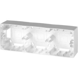 Коробка для накладного монтажа 3-постовая ЭРА 12-6103-03