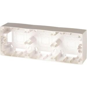 Коробка для накладного монтажа 3-постовая ЭРА 12-6103-04