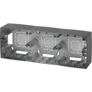 Коробка для накладного монтажа 3-постовая ЭРА 12-6103-05