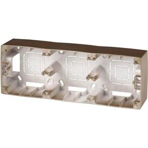 Коробка для накладного монтажа 3-постовая ЭРА 12-6103-13