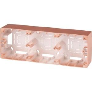 Коробка для накладного монтажа 3-постовая ЭРА 12-6103-14