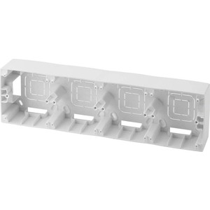 Коробка для накладного монтажа 4-постовая ЭРА 12-6104-01