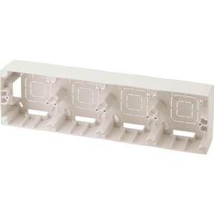 Коробка для накладного монтажа 4-постовая ЭРА 12-6104-02