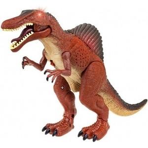 Интерактивный робот CS Toys Динозавр Спинозавр на батарейках - RS6151 декорация светящаяся звезда 7х40х38см 15led дерево на батарейках