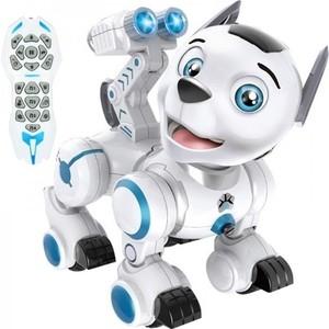 Робот-собака Zhorya Дружок (сенсорные датчики, программируется, свет, звук, лай) - ZYB-B2856