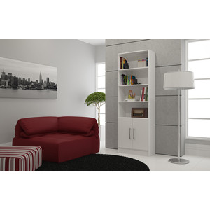 Стеллаж Manhattan Comfort Catarina bl 03-06 white