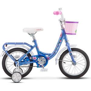 Велосипед Stels 14 Flyte Lady Z011 (Голубой) LU080241
