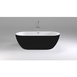 Акриловая ванна Black&White Swan 170x80 каркас, слив-перелив push-open (105SBBL)