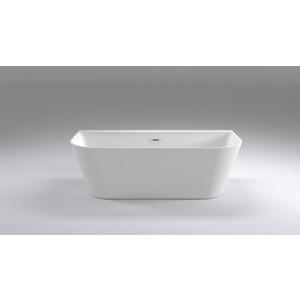 Акриловая ванна Black&White Swan 170x80 каркас, слив-перелив push-open (115SB00)