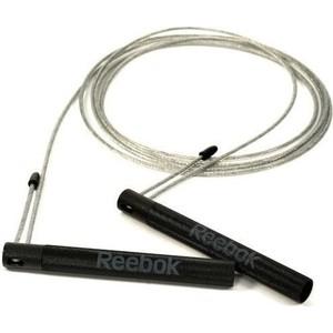 Скакалка Reebok RARP-11082 стальной/черный