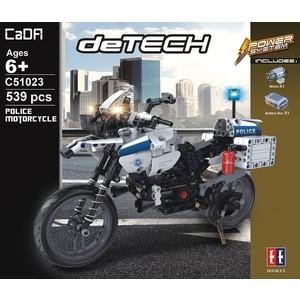 Конструктор Cada deTech полицейский мотоцикл (539 деталей)