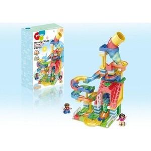 Конструктор Pilage Веселая парковка (175 деталей), лабиринт с шариками и воронками